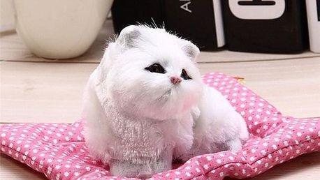 Plyšová kočička vydávající zvuky KM68