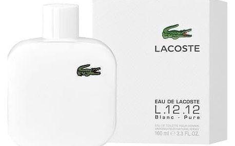 Lacoste Eau de Lacoste L.12.12 Blanc 100 ml toaletní voda pro muže