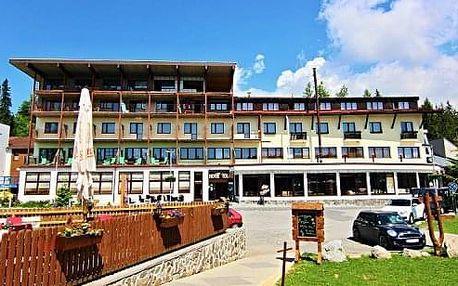 Letní wellness dovolená v Tatrách na Štrbském Plese s polopenzí a bazény v hotelu Toliar