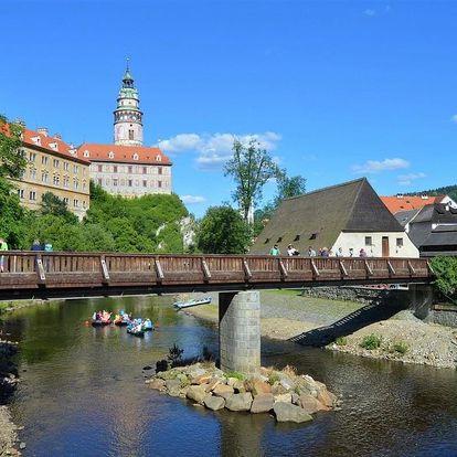 Vltavská cyklistická cesta, jihočeské hrady a zámky, Jižní Čechy