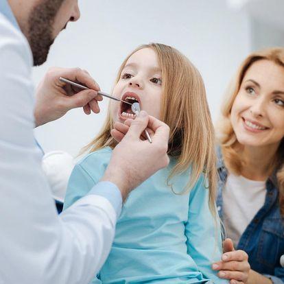 Dentální hygiena pro děti a dospělé i bělení zubů