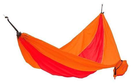 Houpací síť KING CAMP Parachute - oranžovo-červená