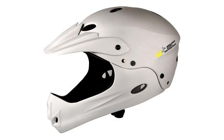 Downhill přilba W-TEC Downhill Barva stříbrná, Velikost L (58-62)