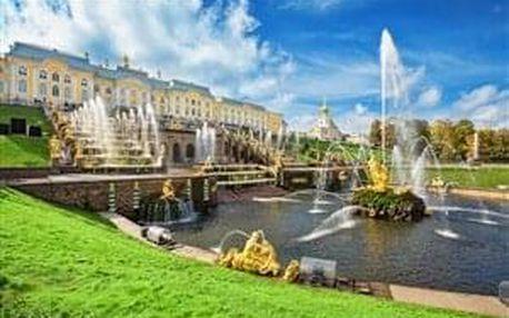 Petrohrad 2021 - Okouzlující Sankt Petěrburg - letecky s průvodcem..., Severozápadní Rusko