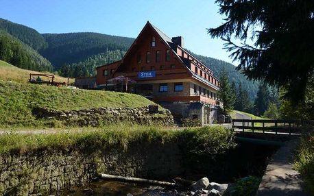 Pobyt v rodinném hotelu ve Špindlu s polopenzí