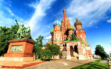Klenoty Moskvy 2021 - letecky s průvodcem v malé skupině, Střední Rusko
