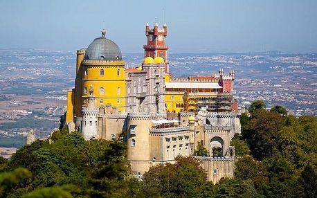 Portugalsko 2021 - země mořeplavců - letecky v malé skupin..., Lisabon a údolí Teja