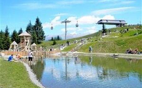 Tyrolsko - svět křišťálových vodopádů (lanovky a výborná mís..., Stubaital