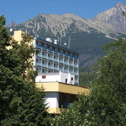 Tatranská Lomnica na 3-5 dnů, polopenze