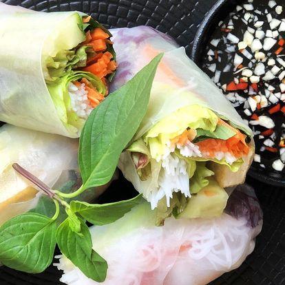 Thajské degustační menu pro dva: 3 nebo 4 chody