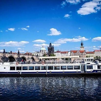 50minutová plavba lodí po Vltavě od Prague boats