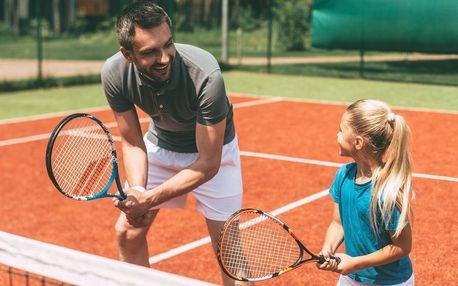 Lekce tenisu s trenérem pro děti i dospělé