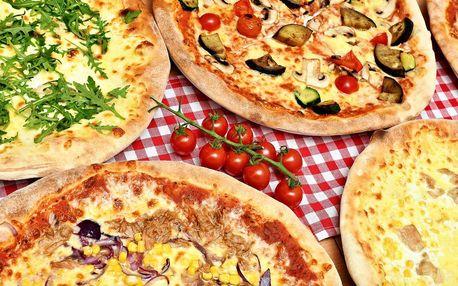1 nebo 2 pizzy podle výběru a ice tea či limonáda