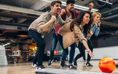 Hodina bowlingu až pro 6 hráčů v čase 13:00–24:00