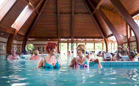 Maďarsko v Komfort Hotelu Platan *** se vstupem do termálních lázní Harkány, polopenzí a welcome drinkem