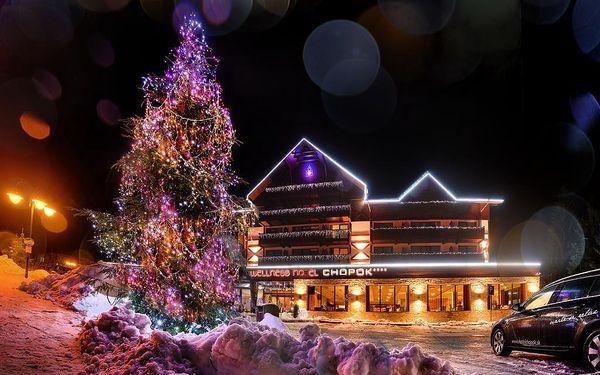 Wellness Hotel Chopok, Nízké Tatry, vlastní doprava, snídaně v ceně3