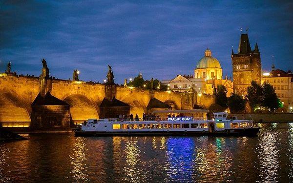 3hodinová plavba po Vltavě s večeří od Prague Boats