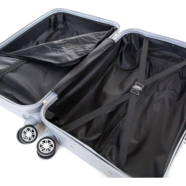 Pretty UP Cestovní skořepinový kufr ABS21 L, šedá4