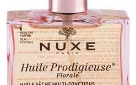 NUXE Huile Prodigieuse Florale Multi-Purpose Dry Oil 100 ml multifunkční zkrášlující suchý olej na obličej, tělo a vlasy pro ženy