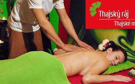 60–90 minut masáže dle výběru v Thajském ráji