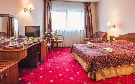 Krakov v Hotelu Sympozjum & SPA **** s bazénem neomezeně, saunou a chutnou polopenzí