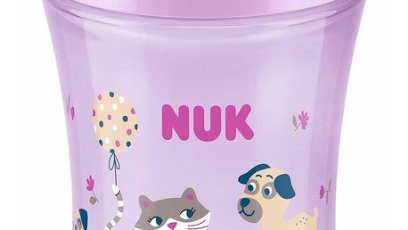 Nuk hrníček s víčkem 230 ml Magic Cup Pink