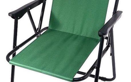 Cattara BERN Židle kempingová skládací zelená