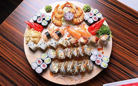 Skvělé sushi sety z čerstvých a kvalitních surovin v restauraci Miomi Sushi
