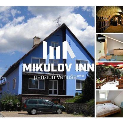 Mikulov, Jihomoravský kraj: Mikulov - Inn - hotel s vinným sklepem Venuše
