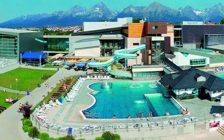 Poprad, hotel Mountain View**** v rekreačním středisku Aquacity