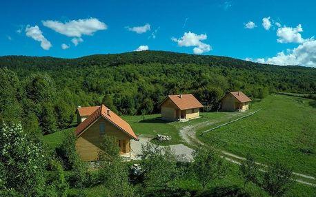 Chorvatsko - Plitvická jezera: Holiday Homes Eko Klanac