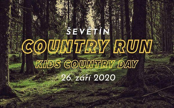 Vstupenka na CountryRun pro jednoho | Termín 26. 9. 2020 od 12:00 do 20:004