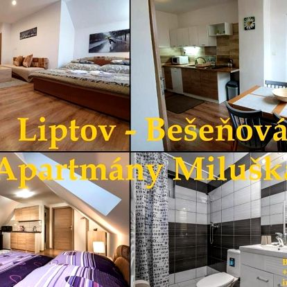 Bešeňová, Nízké Tatry: Apartmány Miluška