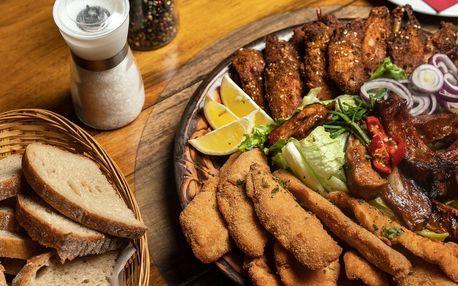 Nálož masa: žebra, smažené řízky i kuřecí křídla