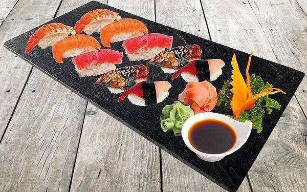 24 ks maki (avokádo, okurka, tuňák)5