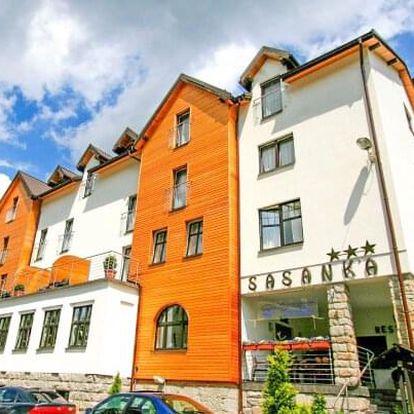 Polské Krkonoše: Szklarska Poręba v Hotelu Sasanka *** s neomezeným wellness s bazénem + polopenze