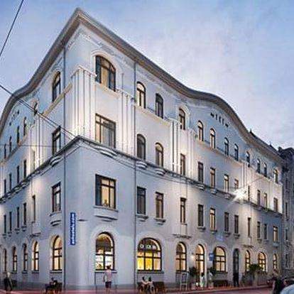 Výjimečné ceny pro pobyt v Budapešti v nově otevřeném hotelu. Až 2 děti do 17 let bezplatně