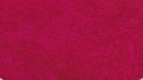 4Home froté prostěradlo růžová, 90 x 200 cm