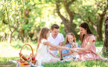 Rodinná dovolená pro 8 osob na Hriňovských lazoch