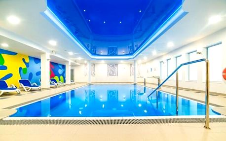 Polsko u Baltského moře v Kołobrzegu v Hotelu New Skanpol *** s neomezeným vstupem do wellness a polopenzí
