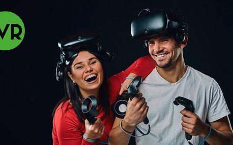 60 minut virtuální reality až pro 3 hráče