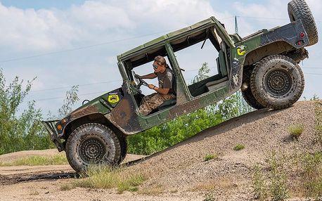 Humvee - řízení vojenského speciálu