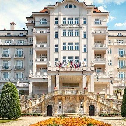 Luxusní wellness dovolená v hotelu Imperial***** v Karlových Varech
