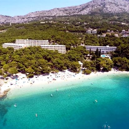 Chorvatsko - Brela na 4-8 dnů, polopenze