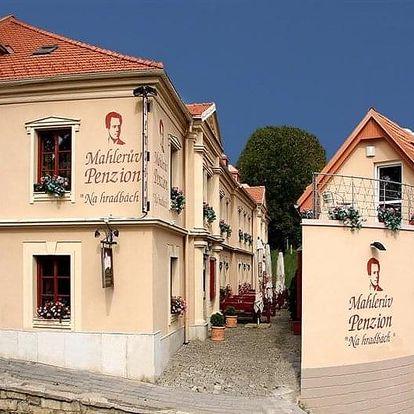 Jihlava - MAHLERŮV penzion NA HRADBÁCH, Česko
