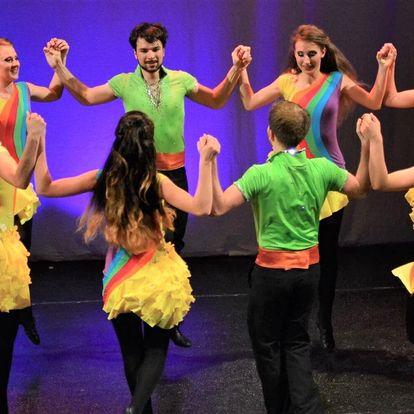 2hodinová lekce irského tance pro začátečníky