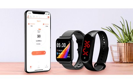 Chytré hodinky: teplota i kroky, kalorie a spánek