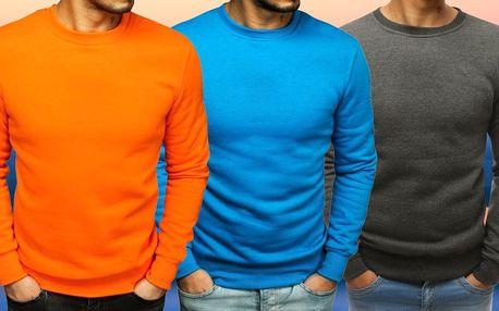 V jednoduchosti je síla: pánské mikiny, 8 barev