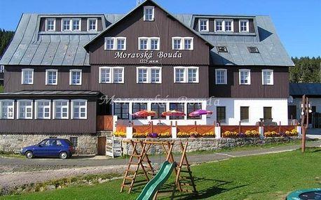 Špindlerův Mlýn - MORAVSKÁ bouda, Česko
