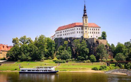 Dovolená na severu Čech se stravou i wellness